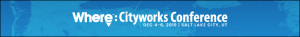 Banner ad for the 2019 Cityworks Conference