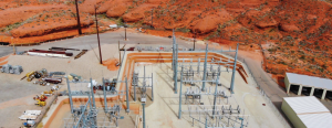 Photo of electric facility in St. George, Utah