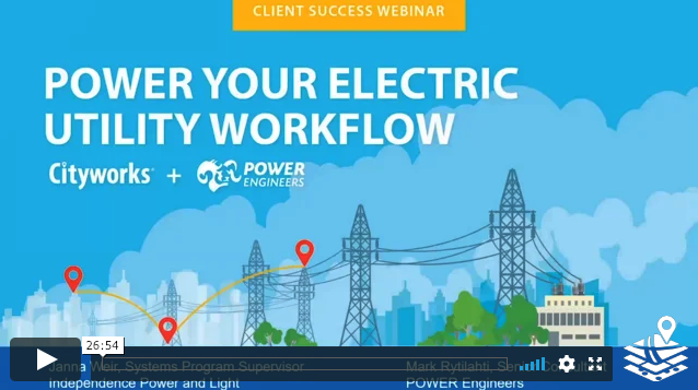 Power Your Electric Utility Workflow | Cityworks