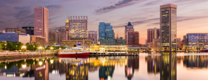City of Baltimore skyline