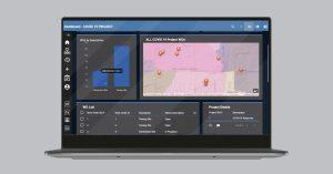 Cityworks dashboard for tracking FEMA expenses