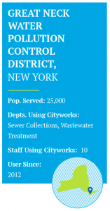 Great Neck Water Pollution Control District and Cityworks