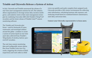 Trimble and Cityworks System of Action