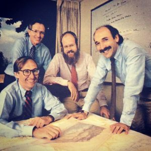 Jack Dangermond and his GIS colleagues