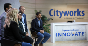 Cityworks Innovate Conference Studio Shot